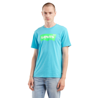 Levi's® Housemark Graphic Tee - Norse Blue (22489-0155)