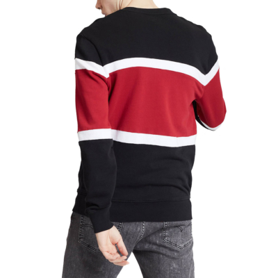 Levi's® Pieced Colorblock Crew Men Sweat Jersey - Black (79550-0000)