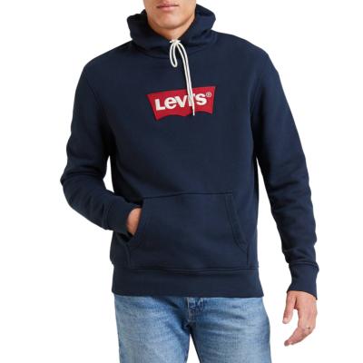 Levi's® Λογότυπο Ανδρικό Φούτερ Κουκούλα Μπλε (56808-0003)