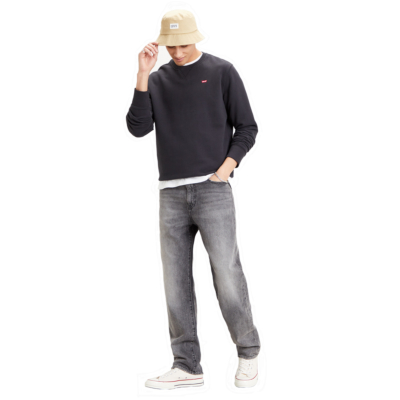Levi's® New Original Crew Men Sweatshirt - Mineral Black (35909-0003)