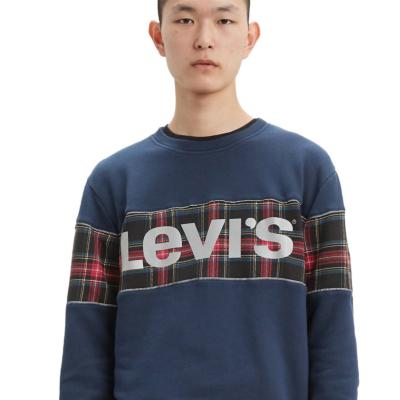 Levi's® Φούτερ Λογότυπο Ανδρικό Λαιμόκοψη Μπλε (69873-0001)