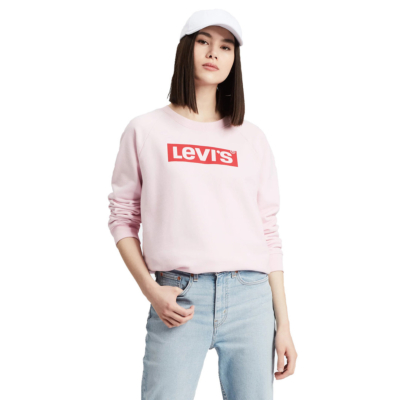 Levi's® Relaxed Graphic Crew Box Tab - Pink (29717-0067)