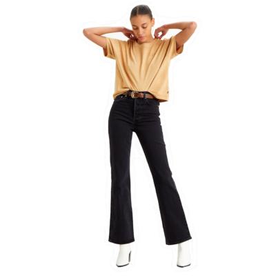 Levi's® Ribcage Bootcut Jeans Women - Black Bayou (36934-0003)