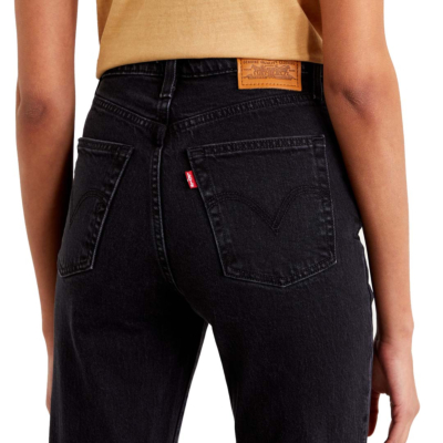 Levi's® Ribcage Bootcut τζιν Γυναικείο - Μαυρό (36934-0003)