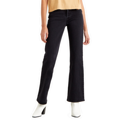 Levi's® Ribcage Bootcut Jeans - Black Bayou (36934-0003)