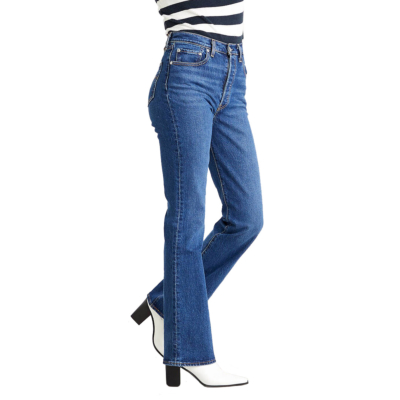 Levi's® Ribcage Bootcut Women Jeans - Turn Up (36934-0001)