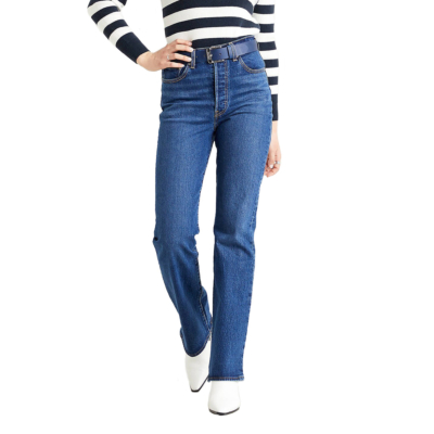 Levi's® Ribcage Bootcut Jeans - Turn Up (36934-0001)