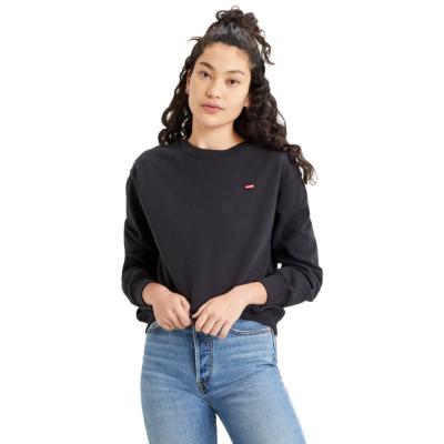 Levi's® Standard Crew Women Sweatshirt - Caviar (24688-0006)