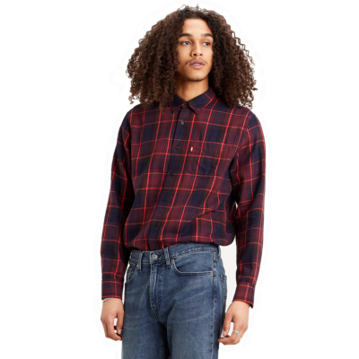 Levi's® Sunset 1 Pkt Shirt - Azriel/ Sassafras (85746-0031)