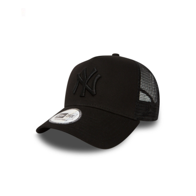 NEW ERA NY Yankees Clean Trucker - Black/ Black (11579474)