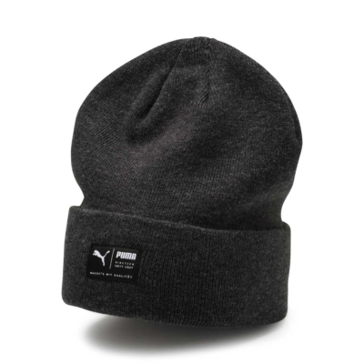 PUMA Archive Beanie Unisex - Black Heather (021739-01)