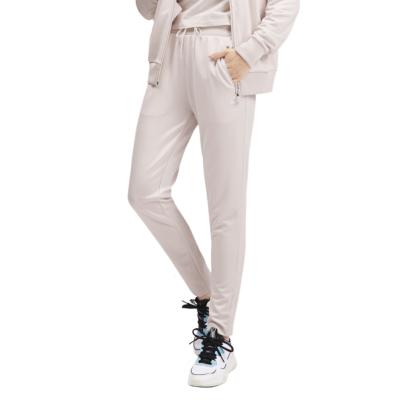 PUMA Classics Poly Track Pants Women - Pastel Parchment (595211-23)