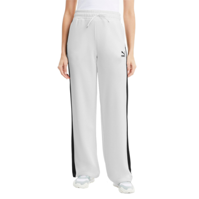 PUMA Classics Wide Leg Women Pants - White (598854-02)