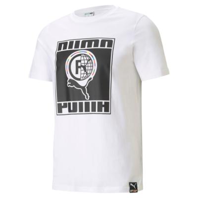 PUMA International Men T-Shirt in White (599804-02)