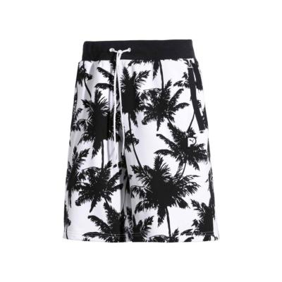 PUMA Palm Tree Men Shorts - Black/ White (578258-02)