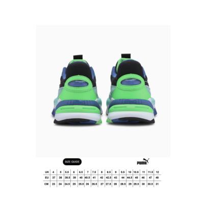 PUMA RS-2K Internet Exploring Sneakers - Black/ Aruba Blue (size guide)
