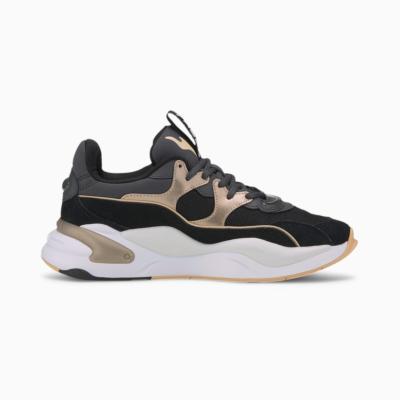 PUMA RS-2K Soft Metal Γυναικεία Αθλητικά Παπούτσια Μαυρό (374666-02)