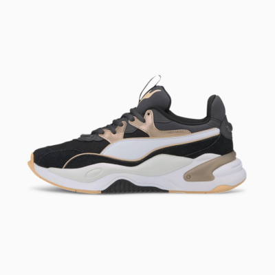 PUMA RS-2K Soft Metal Women Sneakers - Black/ Ebony (374666-02)