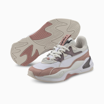 PUMA RS-2K Soft Metal Women Trainers - Vaporous Gray/ Misty Rose (374666-01)