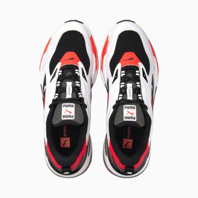 PUMA RS Fast Παπούτσια Αθλητικά Ανδρικά Μαύρο-Ασπρο Κόκκινο