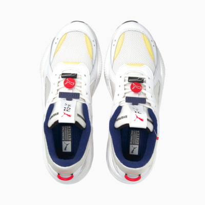 PUMA RS-X Decor8 Αθλητικά Παπούτσια Ανδρικά Λευκά (380573-01)