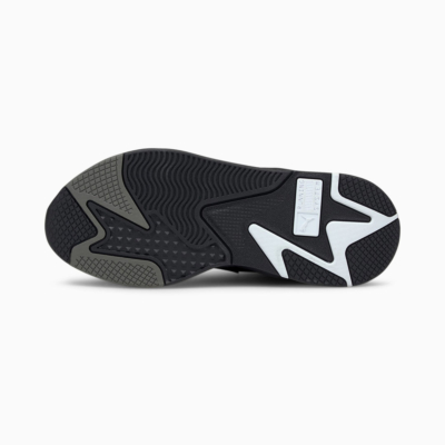 PUMA RS-X Mix Sneakers - Black/ Castlerock (sole)