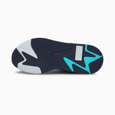 PUMA RS-X Mix Sneakers - White/ Angel Blue (sole)