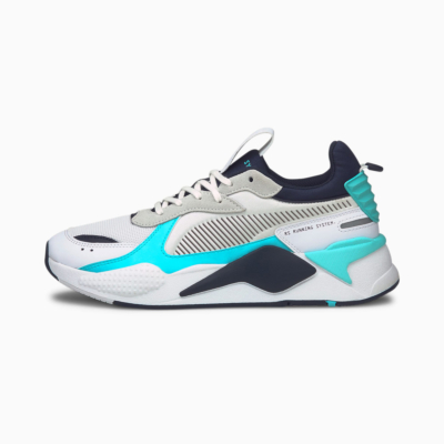PUMA RS-X Mix Sneakers - White/ Angel Blue (380462-02)