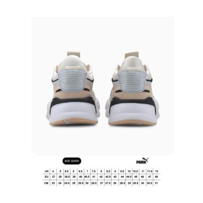 PUMA RS-X Reinvent Women Sneakers - White/ Natural Vachetta (size guide)