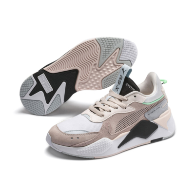 PUMA RS-X Reinvent Sneakers - Rosewater/ Plein Air (371008-04)