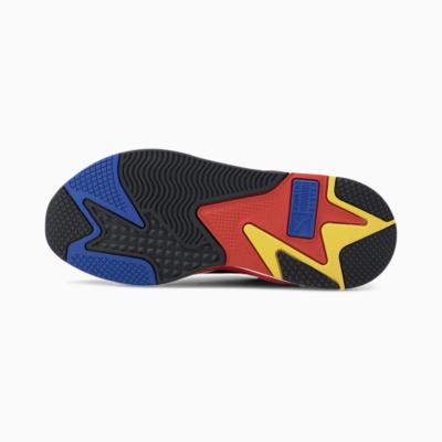 PUMA RS-X³ Millenium Unisex Παπούτσια Αθλητικά - Black/ Hi Risk Red (373236-11)