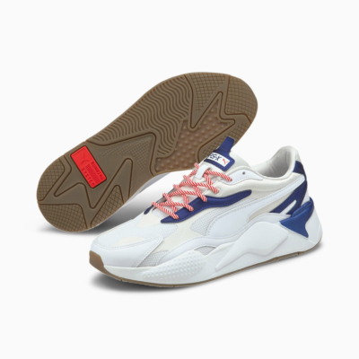 PUMA RS-X³ X-Mas Edition Unisex Sneakers - White/ Elektro Blue (380174-01)