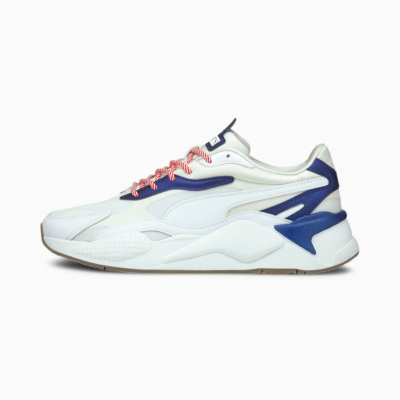 PUMA RS-X³ X-Mas Edition Sneakers - White/ Elektro Blue (380174-01)