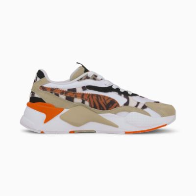 PUMA RS-X³ WildCats Αθλητικά Παπούτσια Γυναικεία  - Pale Khaki/ White (373953-01)