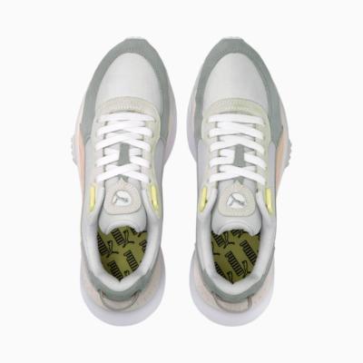 PUMA Wild Rider Rollin' Παπούτσια Αθλητικά Γυναικεία Λευκό (381517-05)
