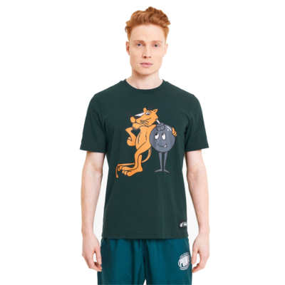 PUMA x THE HUNDREDS Men Tee - Ponderosa Pine (596750-38)
