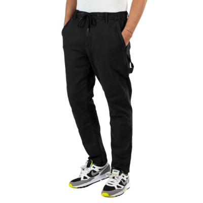 REELL Reflex Easy Worker Pants Canvas - Black (RLJ19517)