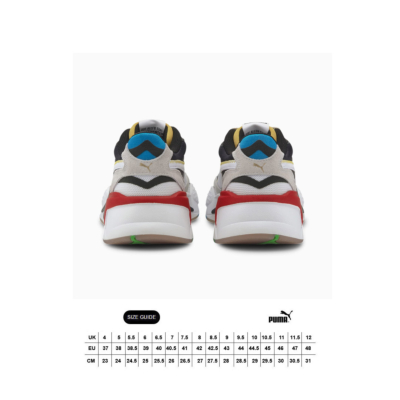 PUMA RS-X³ WH Sneakers - White/ Black (size guide)
