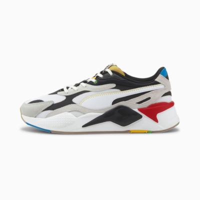 PUMA RS-X³ WH Sneakers - White/ Black (373308-01)