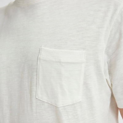 SELECTED Carlos Chest Pocket Tee (detail)
