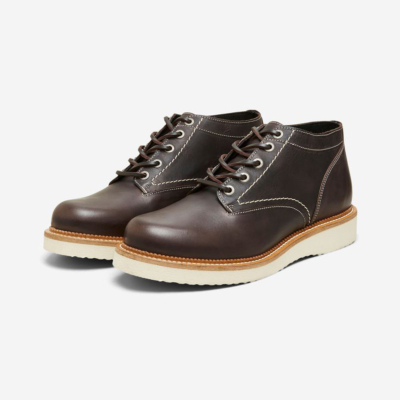 SELECTED Leather Handmade Boots (16081330-Brown)