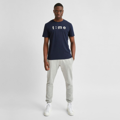 SELECTED Winston Men Tee (16079807-Navy Blazer)