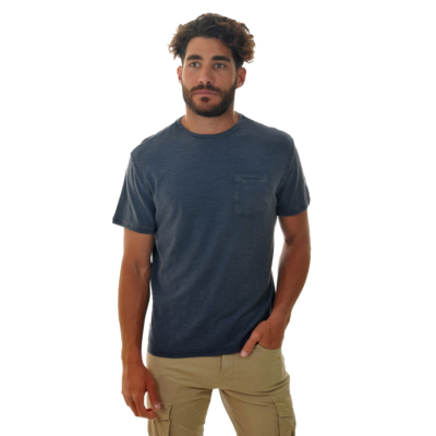 Smithy's Slub Jersey Pocket Men Tee - Navy (SMS20-105)