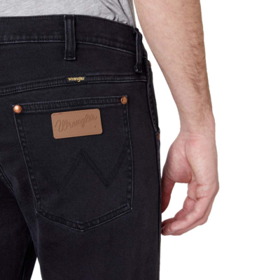 WRANGLER 11MWZ Jeans Slim - Black (back pocket)