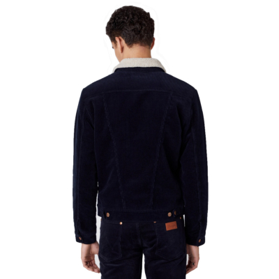 WRANGLER 124MJ Sherpra Cord Jacket Men - Navy (W4MSUP114)
