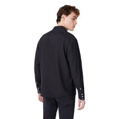 WRANGLER 27MW Denim Shirt Men - Black Washed (W5MS4O236)