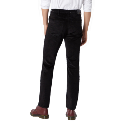 WRANGLER Arizona Κοτλέ Ανδρικό Παντελόνι Μαύρο (W12OEC100)