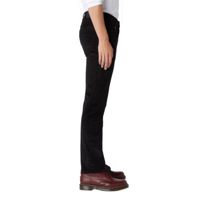 WRANGLER Arizona Κοτλέ Παντελόνι Μαύρο (W12OEC100)