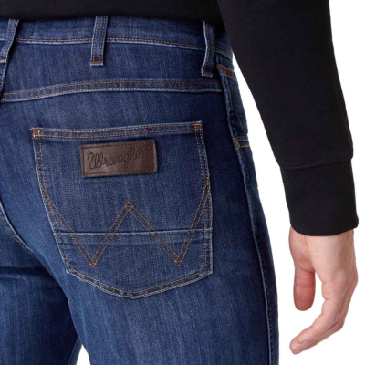 WRANGLER Arizona Jeans Regular in Cool Hand (back pocket)