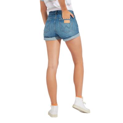 WRANGLER Boyfriend Denim Women Shorts - Motel Blue (W29K-VC-245)